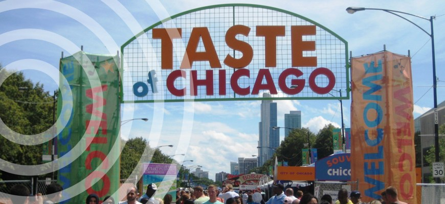 taste of chicago parking