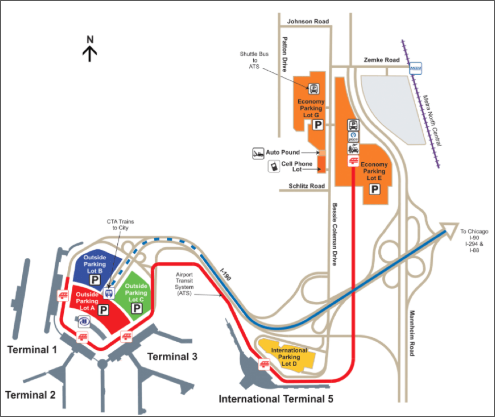Where to Park at OHare 8 Options for Easy OHare Parking