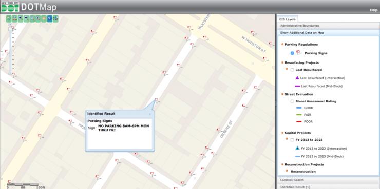 Free Parking Dot App