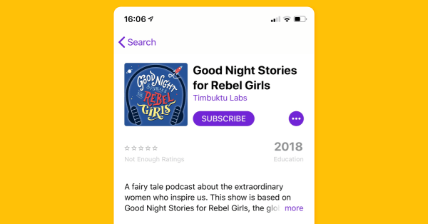 Apple Podcasts on mobile