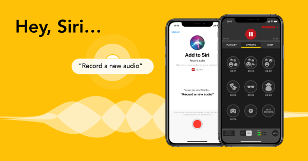 Siri Shortcut for podcast - Spreaker voice command