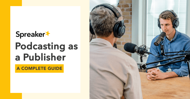 Guide to Podcasting for Publishers