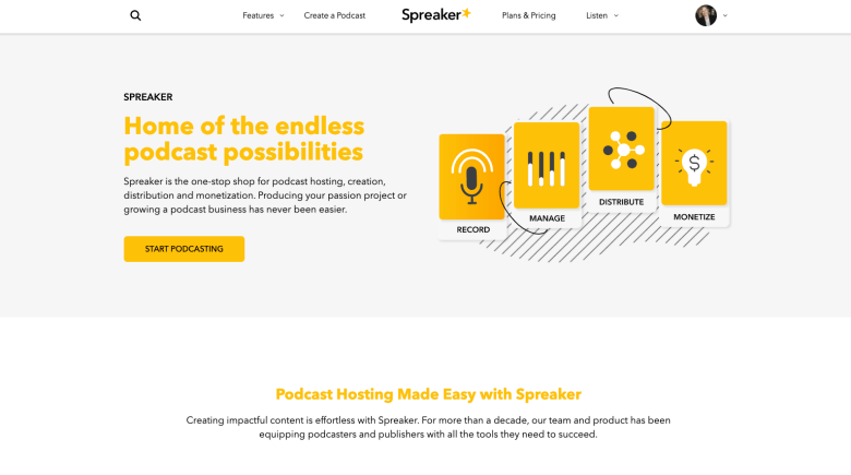 Spreaker campaign manager