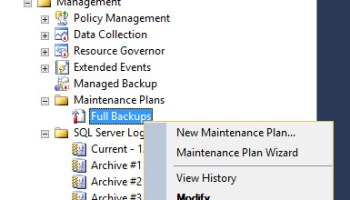 SQL SERVER - Execution Failed. See the Maintenance Plan and SQL Server Agent Job History Logs for Details Agent-Not-Running-01