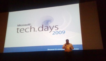 SQLAuthority News - Notes from TechDays 2009 at Infosys, Bangalore infosys0