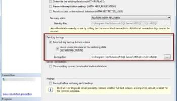 SQL SERVER - Corrupted Backup File and Unsuccessful Restore backuptlog