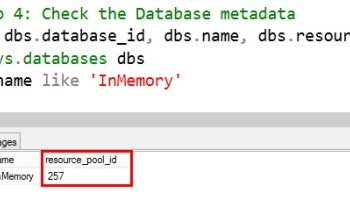 SQL SERVER - Identifying If Database Supports InMemory OLTP Functionality bind-db-to-rg-InMemory