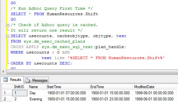 SQL SERVER - Stored Procedure - Clean Cache and Clean Buffer - SQL