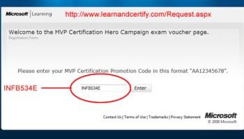 SQLAuthority News - Microsoft Certification Exam - Discount Code certdiscount