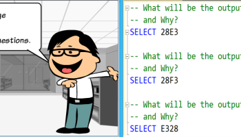SQL SERVER - Take the Quiz for a chance to win a Quadcopter Drone - Brain Teasers embquiz
