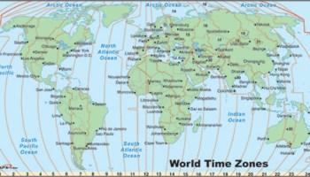 SQL SERVER - Get Current TimeZone Name in SQL Server world_time_zone_map