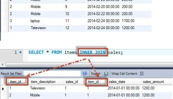 MySQL - Generate Script for a Table Using SQL naturaljoin