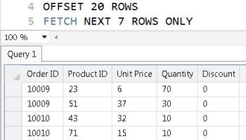 SQL SERVER - MySQL - LIMIT and OFFSET - Skip and Return Only Next Few Rows - Paging Solution pagingce