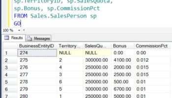 SQL SERVER - Export Data AS CSV from Database Using SQLCMD samplequery