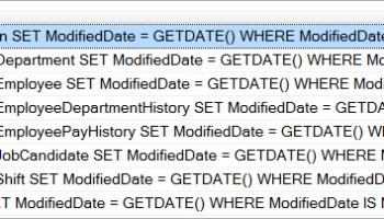 SQL SERVER - Query to Find Column From All Tables of Database updatescriptgen
