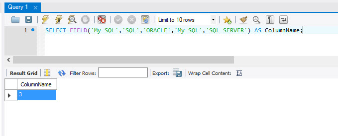 MySQL - ELT() and FILED() Functions to Extract Index Position From List mysql-index-position3