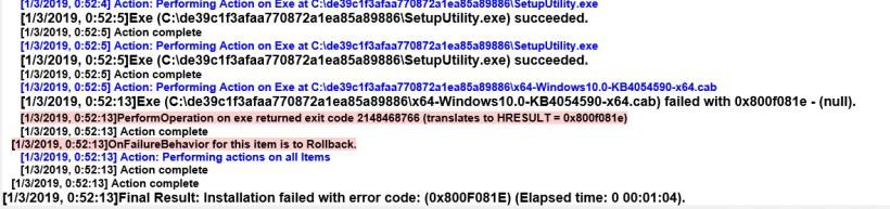 Net Framework 4 6 2 Hresult 0x800f081e | Nakanak org