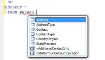 SQL SERVER - 2008 - Change Color of Status Bar of SSMS Query Editor sql-features-1