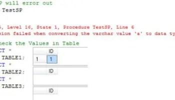 SQL SERVER - Fix : Error: 3902, Severity: 16; State: 1 : The COMMIT TRANSACTION request has no corresponding BEGIN TRANSACTION. SPTran1