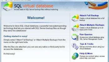 SQL SERVER - Effect of Compressed Backup Setting at Server Level on Database Backup vdb1