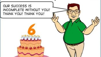 12th Anniversary of SQL Authority - 4552nd Blog Post 6thanniversary