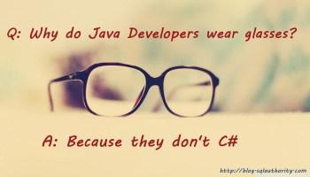 Developers - Seven Foods Developers Love glasses