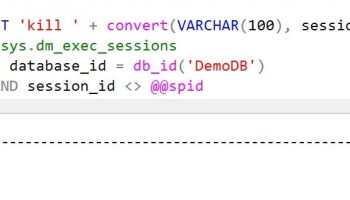 SQL SERVER - Difference Between ROLLBACK IMMEDIATE and WITH NO_WAIT during ALTER DATABASE kill-01