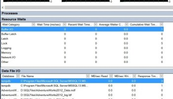 Activity Monitor and Running Query - SQL in Sixty Seconds #115 activity-monitor-001
