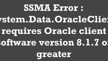 "SQL SERVER - Fix Error 9803. Invalid data for type ""numeric"" - Data Type Mapping ssma-error"