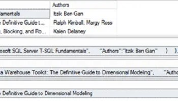 SQL SERVER - 2016 - Check Value as JSON With ISJSON() 114