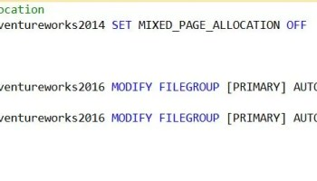 SQL SERVER - Script - When/Who did Auto Grow for the Database? autogrow-mixedpage