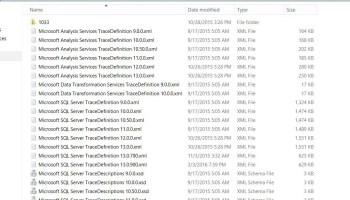 SQL SERVER - FIX : ERROR : Cannot find template file for new query (C:\Program Files\Microsoft SQL Server\90\Tools\ Binn\VSShell\Common7\ IDE\sqlworkbenchprojectitems\Sql\ SQLFile.sql) profiler-err-03