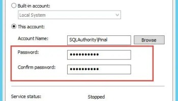 SQL SERVER - Event ID 107- Report Server Windows Service (MSSQLSERVER) cannot connect to the report server database. logon-failure-02