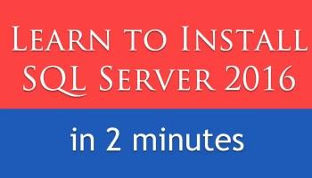Download SQL SERVER 2016 Developer Edition for FREE SQL2016-cover