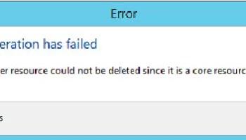 SQL SERVER - Drop failed for Availability Group - Failed to Destroy the Windows Server Failover Clustering Group Corresponding to Availability Group clusterederror