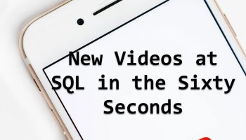 Single Column Single Row and TABLE SCAN - SQL in Sixty Seconds #111 newvideos