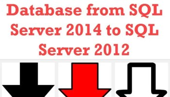 SQL SERVER - Generate Script for Schema and Data - SQL in Sixty Seconds #021 - Video downgrade
