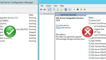 Why to Use SQL Server Configuration Manager Over Services applet (services.msc)? - Interview Question of the Week #112 svc-acc-01