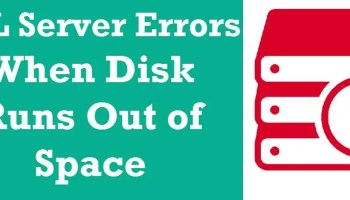 SQL SERVER - Msg 1842 - The File Size, Max Size Cannot be Greater Than 2147483647 in Units of a Page Size diskspaceissue