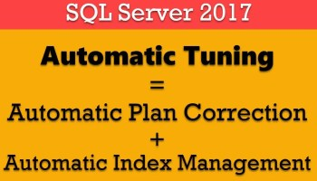 SQL SERVER - Thinking about Deprecated, Discontinued Features and Breaking Changes while Upgrading to SQL Server AutomaticTuning