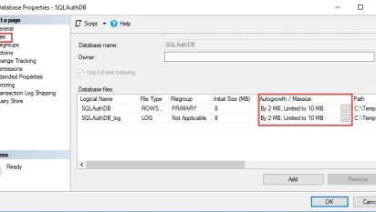 SQL SERVER - Error - Resolution - Could not allocate space