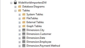 SQL SERVER 2016 - How to Import New Sample Database WideWorldImporters WWI-DW-01