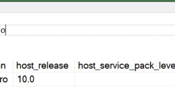 SQL SERVER - Three DMVs - sys.dm_server_memory_dumps - sys.dm_server_services - sys.dm_server_registry dmoshostinfo