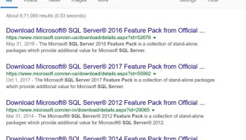 SQL SERVER - SSMS Query Command(s) completed successfully without ANY Results - Part 2 no-ssms-01