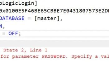 SQL SERVER - Transfer Logins Error: Msg 15419: Supplied Parameter sid Should be Binary(16) - sp_help_revlogin invalid-pwd-err-01