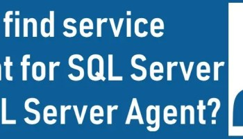 SQL SERVER - Enable Additional Logging for SQL Server Agent service