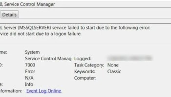 SQL SERVER - Logon Failure: The User has not Been Granted the