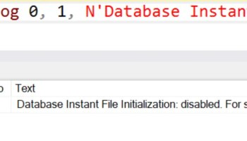 How to Check Status of Instant File Initialization? - Interview Question of the Week #184 instantfile