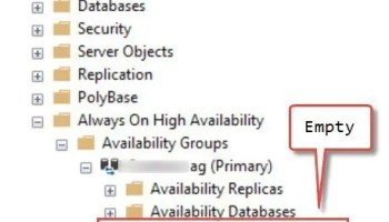 SQL SERVER - AlwaysOn Listener Error - The WSFC Cluster Could Not