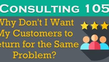 Consulting 103 - Why Do I Assure SQL Server Performance Optimization in 4 Hours? - SQL Server Performance Tuning consulting105
